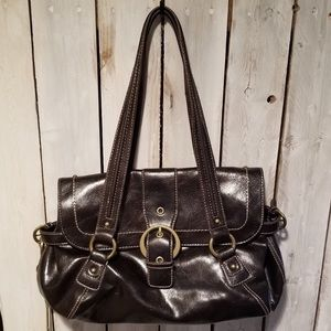 Nine West Leather Shoulder Bag Great condition